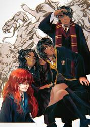 Stormlight Archive x Harry Potter - Hogwarts AU by BotanicaXu