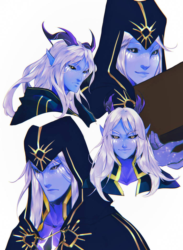 The Dragon Prince - Aaravos by BotanicaXu
