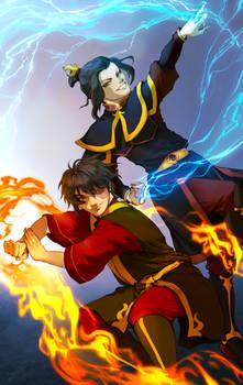 ATLA - Zuko and Azula