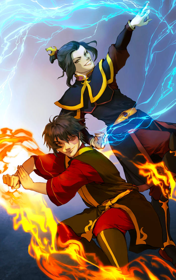 ATLA - Zuko and Azula by BotanicaXu