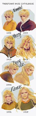 Vinland Saga - Thorfinn's Hair Catalogue