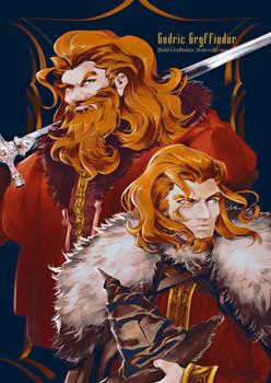 Founders of Hogwarts - Godric Gryffindor