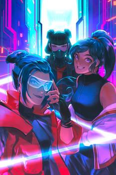 ATLA - Cyber Fire Girls