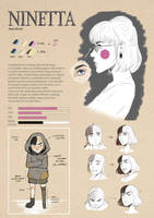 Ninetta character design
