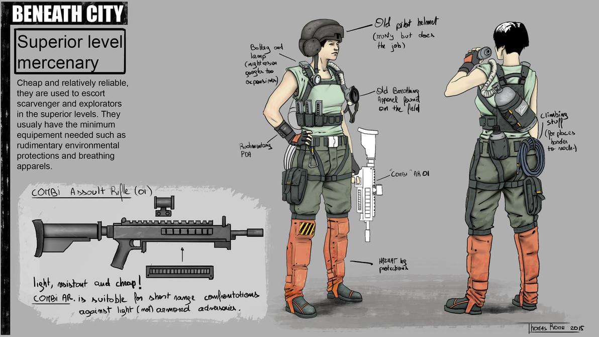 BEANEATH CITY - Superior level mercenary by ThomasRome