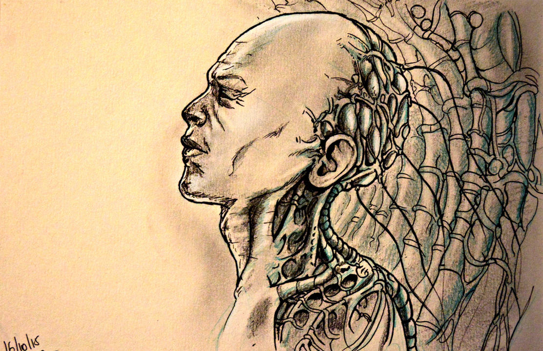 Inktober2015 - 16/10/2015 by ThomasRome