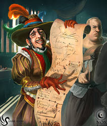 Scathing Tax Collector (Nox Card Game)