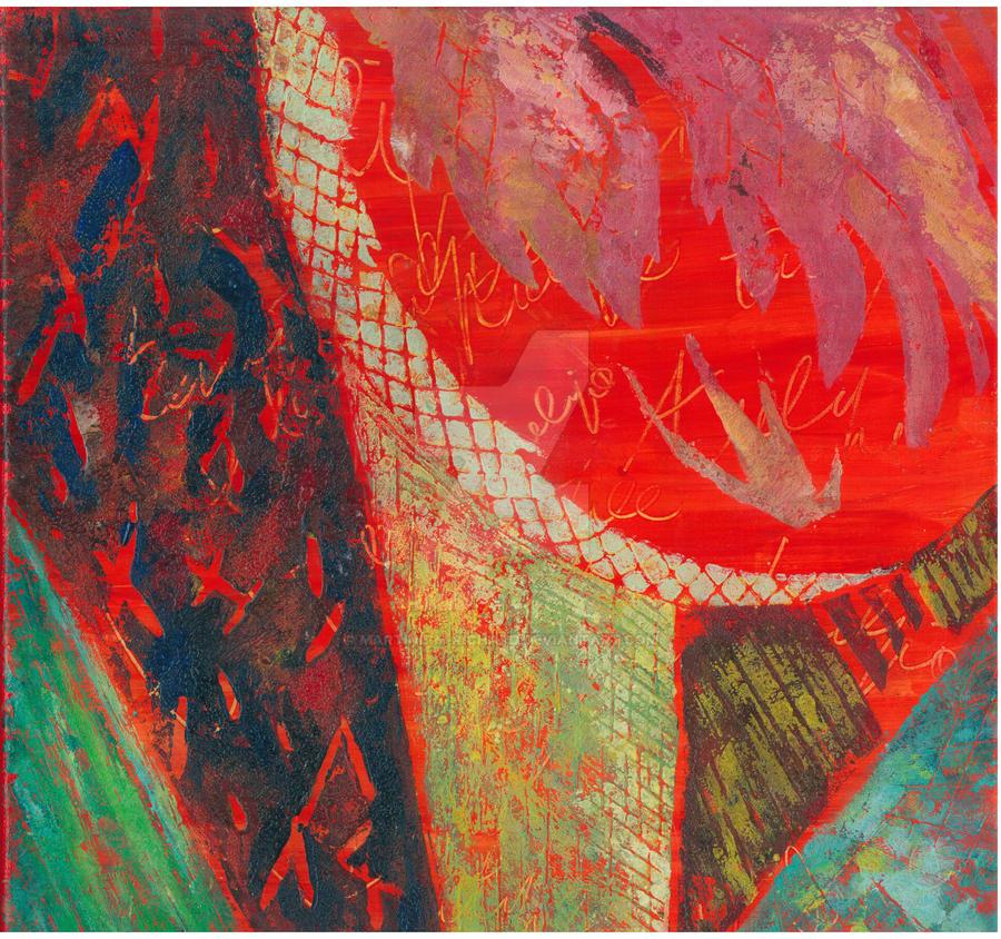 Tulipe rouge by Martine-m-richard