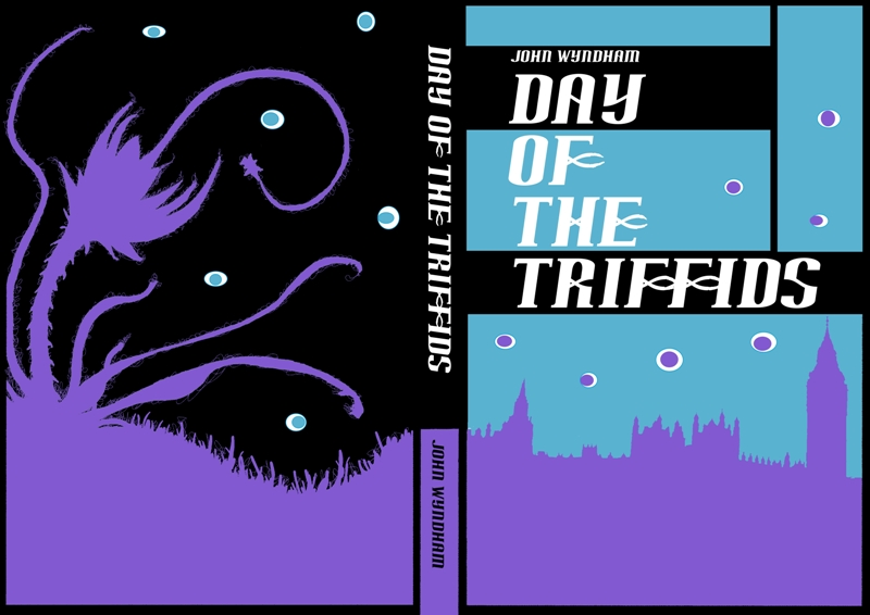 Day of the Triffids Book Cover by eosvector on DeviantArt