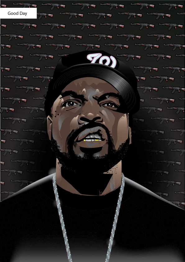 Ice Cube By Eosvector