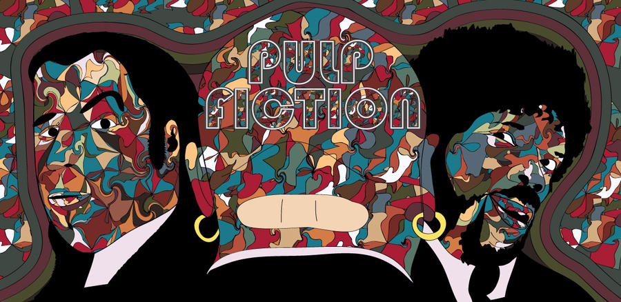 Pulp Fiction by eosvector