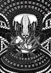 Alien Art by eosvector