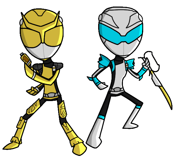 gold and silver rangers beast morphers by sellicdr on deviantart gold and silver rangers beast morphers
