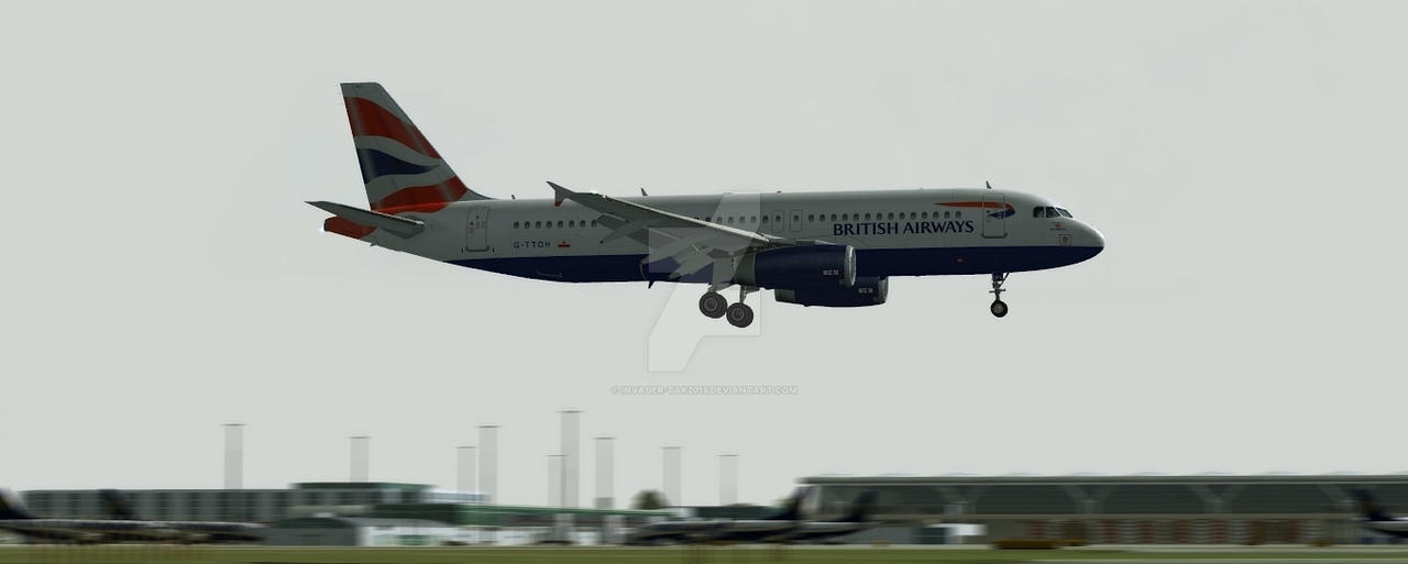 British Airways: Short Finals by Invader-Tak2015