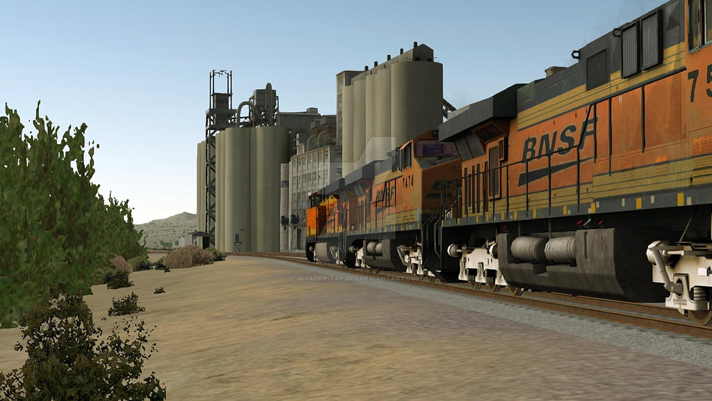 BNSF: This place looks AWFULLY Familiar! by Invader-Tak2015