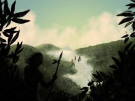 Speedpainting: Amazonia by Kev1987