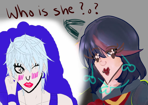 Who is she? by NenoNekotama