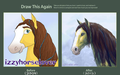 Draw This Again - 2009/2012 by izzyhorselover