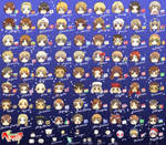 All Characters from Hetalia