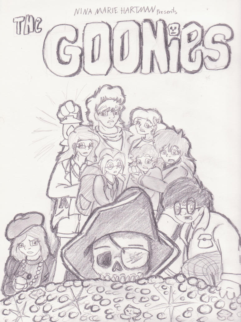 Goonies Coloring Pages Coloring Pages