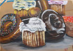 Donuts + Cupcakes