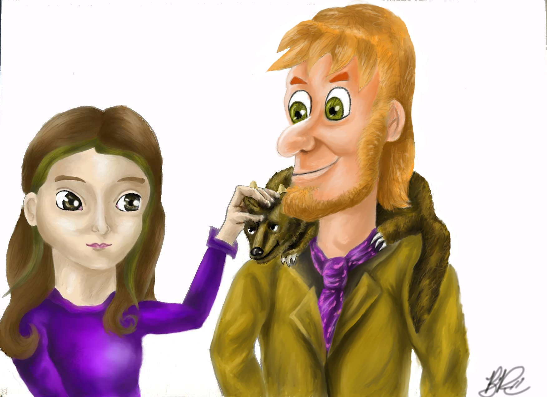 meggie and dustfinger