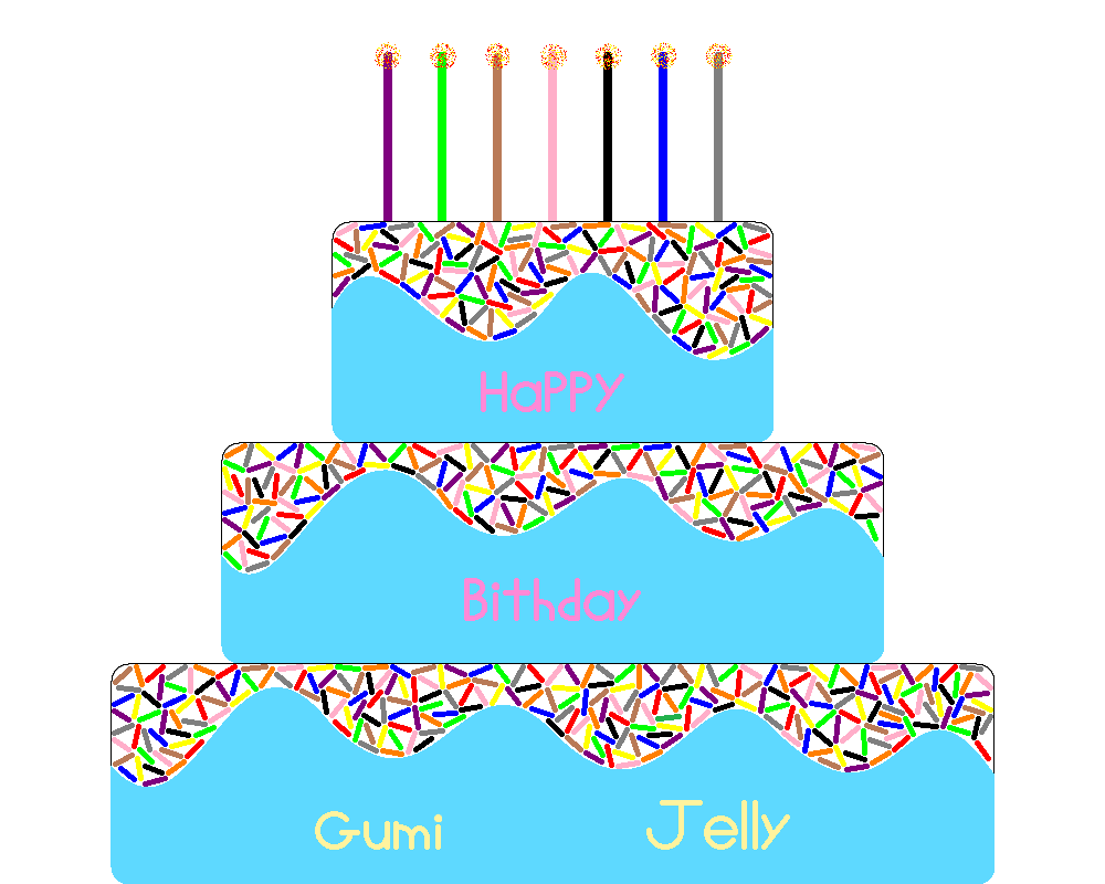 Happy B-day '' GumiJelly'' by NicLove
