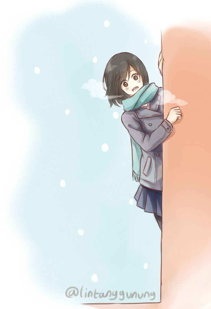 Fuyu doodle by Rin-tann