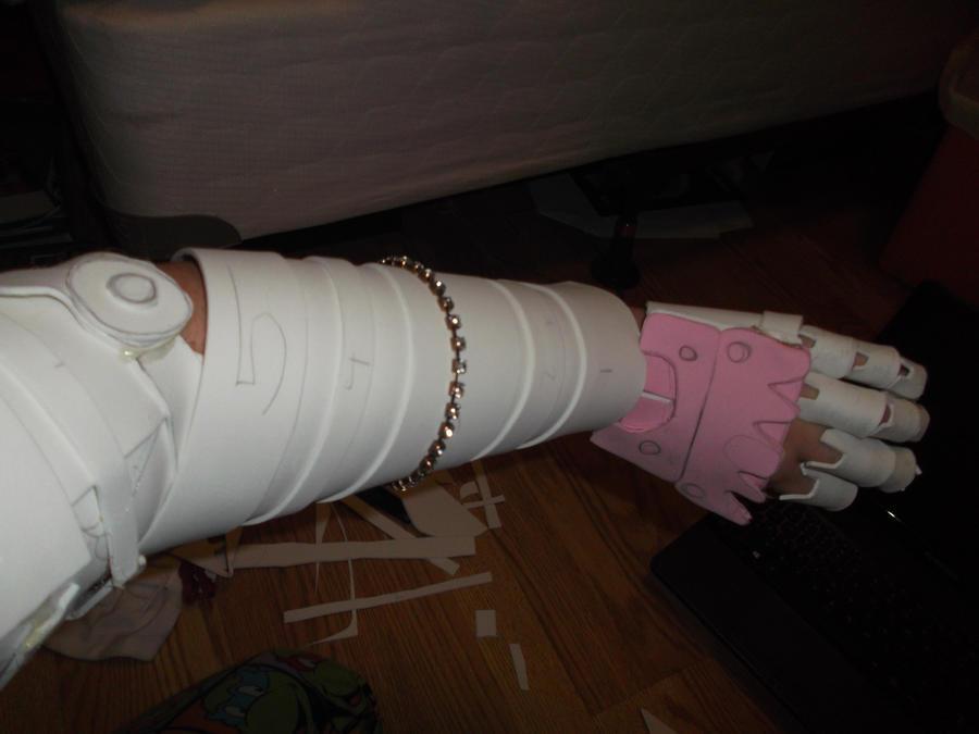 Vriska's Robotic Arm Base by americaneulogy23