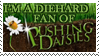 Pushing Daisies Fan Stamp by Green-Jackster