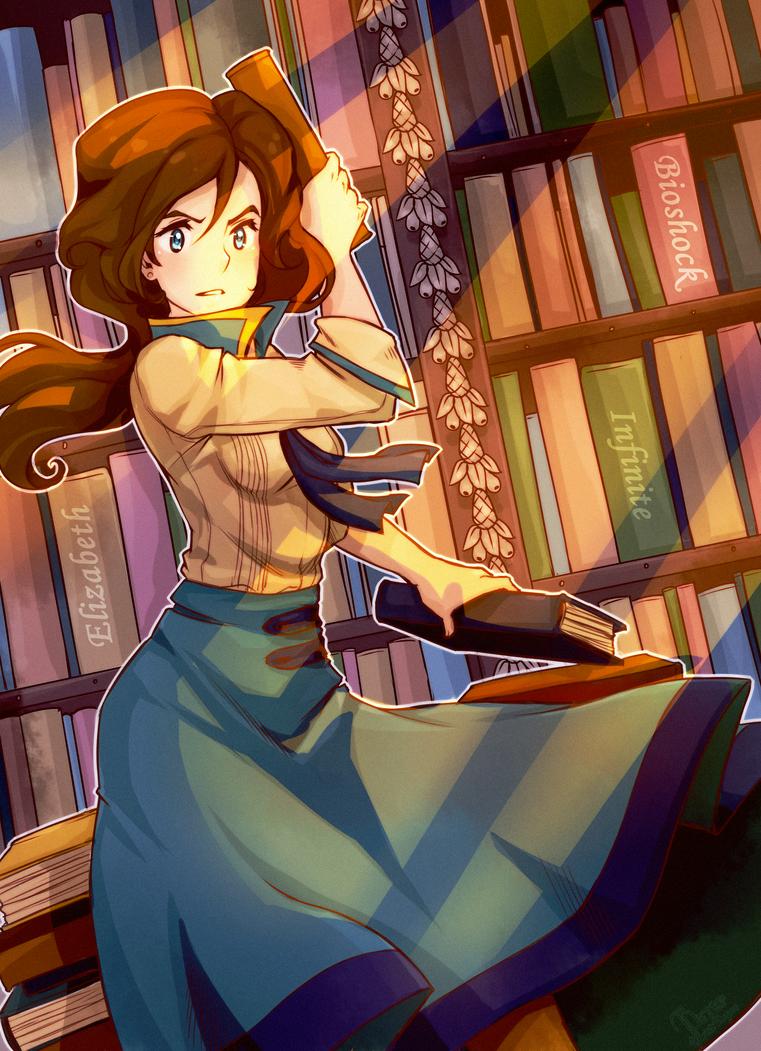 Elizabeth - Bioshock Infinite by KazeAi7