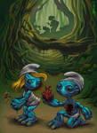 Smurfs - sketch