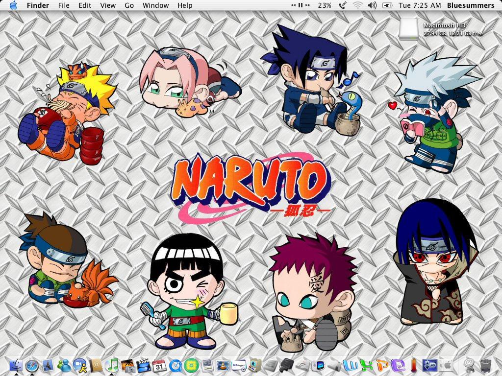 Chibi Naruto by b1uesummers