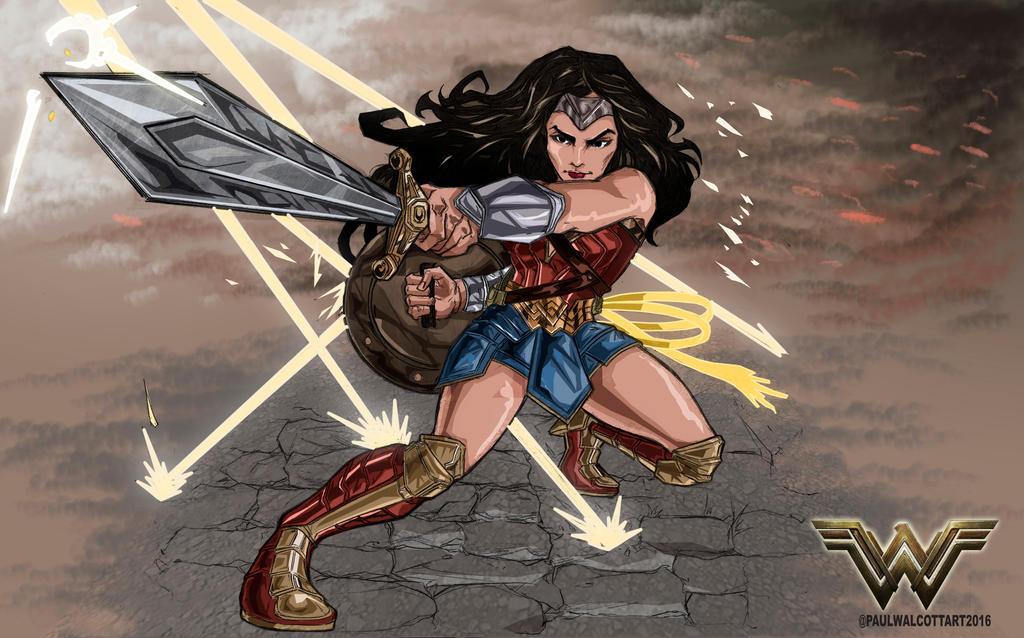 Wonder Woman 2016 by FantasiesAndFathoms