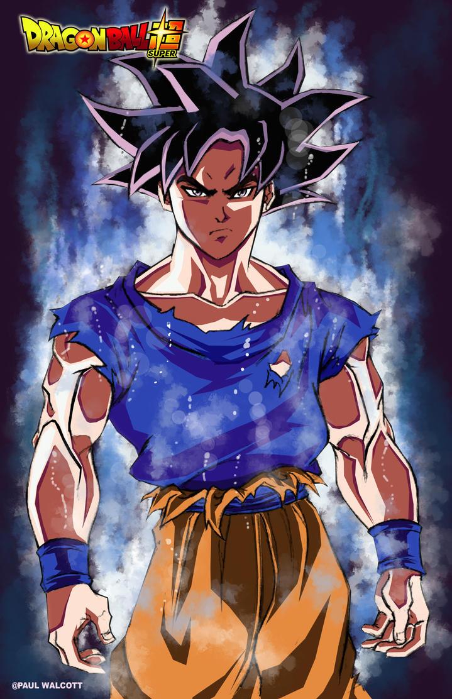 Goku (Ultra Instinct) by FantasiesAndFathoms