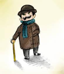 Poirot by Monkey-sama