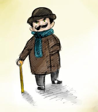 Hercule Poirot Poirot_by_Monkey_sama