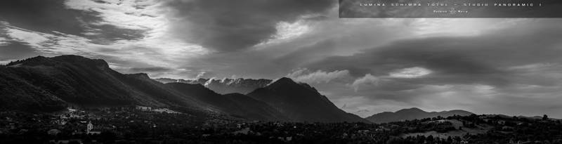 Light changes everything - Panoramic Study I