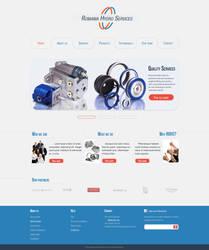 Romania Hydro Services - homepage web template