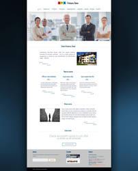 Patronatul Roman web design interface - version 2