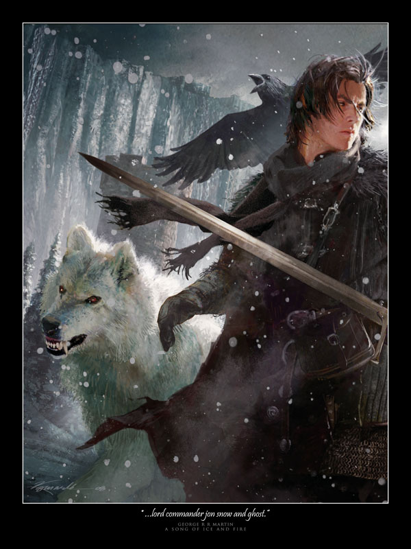 Lord Commandar Jon Snow by DabelBrothers
