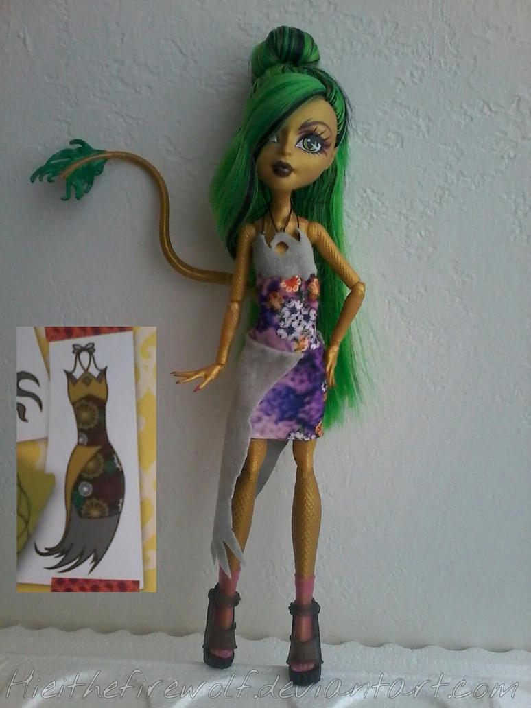 Jinafire Dress by Hieithefirewolf