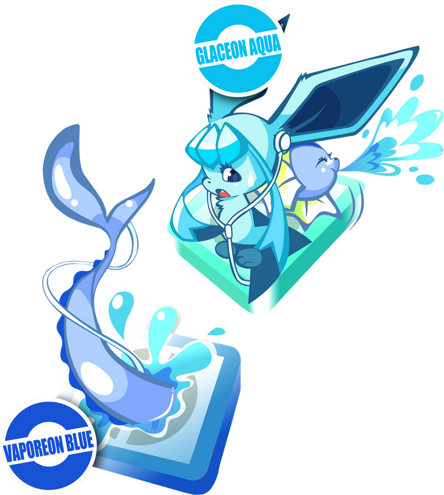 Glaceon HD Wallpapers |Vaporeon And Glaceon Wallpaper