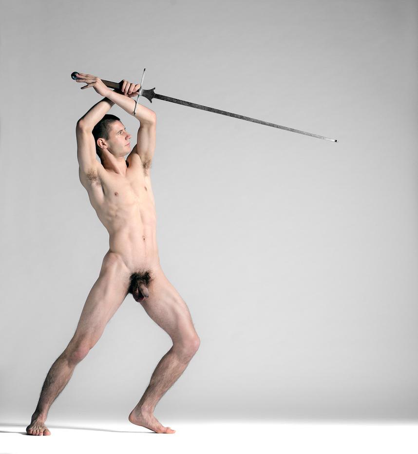 Swordfighter pose by Ewoud57