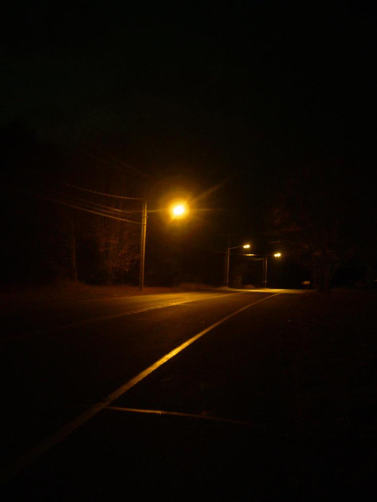 street light at night. by xyr on DeviantArt