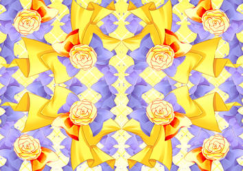 yellow-bg-flowers-2 by zvdvvdvz
