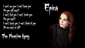 Epica - The Phantom Agony Wallpaper