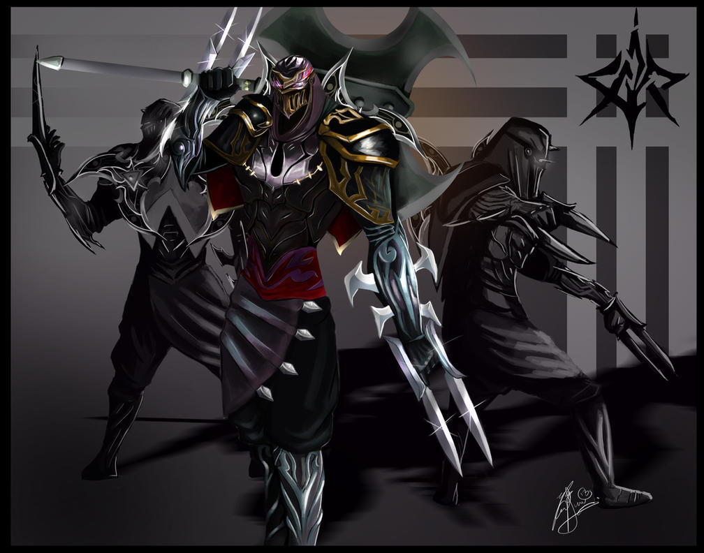 Zed the Master of Shadows by LeonSerade
