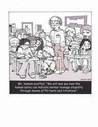 Sleeping in Chem Class comic by GreyMountain