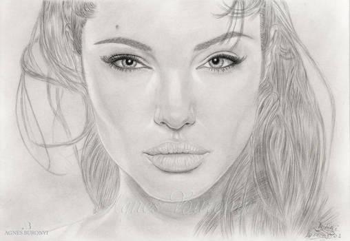 Angelina Jolie the face